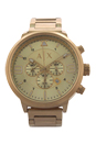 AX1368 Chronograph Gold-Tone Stainless Steel Bracelet Watch by Armani Exchange for Men - 1 Pc Watch