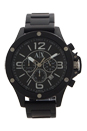 AX1503 Chronograph Black Ion Plated Stainless Steel Bracelet Watch by Armani Exchange for Men - 1 Pc Watch