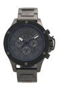 AX1514 Chronograph Gunmetal Ion Plated Stainless Steel Bracelet Watch by Armani Exchange for Men - 1 Pc Watch