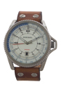 DZ1715 Rollcage Light Brown Leather Strap Watch by Diesel for Men - 1 Pc Watch