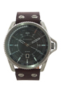 DZ1716 Rollcage Dark Brown Leather Strap Watch by Diesel for Men - 1 Pc Watch