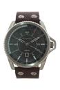 DZ1716 Rollcage Dark Brown Leather Strap Watch by Diesel for Men - 1 Pc Watch