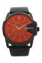 DZ1657 Master Chief Black Leather Strap Watch by Diesel for Men - 1 Pc Watch