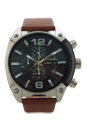 DZ4296 Chronograph Brown Leather Strap Watch by Diesel for Men - 1 Pc Watch