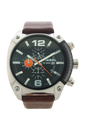 DZ4204 Brown Leather Analog Black Dial Quartz Watch by Diesel for Men - 1 Pc Watch