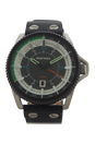DZ1717 Rollcage Black Leather Strap Watch by Diesel for Men - 1 Pc Watch