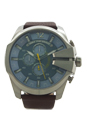 DZ4281 Chronograph Brown Leather Strap Watch by Diesel for Men - 1 Pc Watch