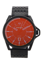 DZ1720 Rollcage Black Ion Plated Stainless Steel Bracelet Watch by Diesel for Men - 1 Pc Watch