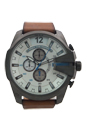 DZ4280 Chronograph Tan Leather Strap Watch by Diesel for Men - 1 Pc Watch