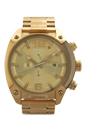 DZ4299 Chronograph Gold-Tone Stainless Steel Bracelet Watch by Diesel for Men - 1 Pc Watch