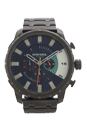 DZ4358 Chronograph Blue Dial Grey Ion Plated Watch by Diesel for Men - 1 Pc Watch