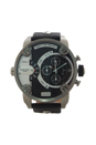 DZ7256 Chronograph Black Leather Strap Watch by Diesel for Men - 1 Pc Watch