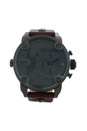 DZ7258 Chronograph Brown Leather Strap Watch by Diesel for Men - 1 Pc Watch