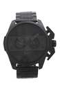DZ4362 Chronograph Ironside Black Ion Plated Stainless Steel Bracelet Watch by Diesel for Men - 1 Pc Watch