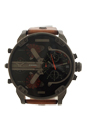 DZ7332 Mr. Daddy 2.0 Brown Steel Leather Strap Watch by Diesel for Men - 1 Pc Watch