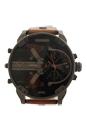 DZ7332 Mr. Daddy 2.0 Brown Steel Leather Strap Watch by Diesel for Men - 1 Pc Watch