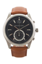 MK8416 Chronograph Aiden Luggage Leather Strap Watch by Michael Kors for Men - 1 Pc Watch