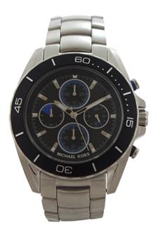 MK8462 Chronograph Jetsetter Stainless Steel Bracelet Watch by Michael Kors for Men - 1 Pc Watch