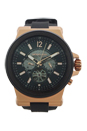 MK9019 Automatic Dylan Black Silicone Strap Watch by Michael Kors for Men - 1 Pc Watch