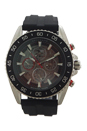 MK9013 Automatic Chronograph JetMaster Black Silicone Strap Watch by Michael Kors for Men - 1 Pc Watch