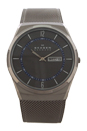 SKW6078 Titanium Mesh Bracelet Watch by Skagen for Men - 1 Pc Watch