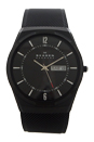 SKW6006 Black Titanium Mesh Bracelet Watch by Skagen for Men - 1 Pc Watch