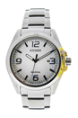 AW1430-86A Eco-Drive Stainless Steel Bracelet Watch by Citizen for Men - 1 Pc Watch