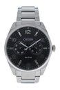 AO9020-84E Eco-Drive Dress Black Dial Stainless Steel Watch by Citizen for Men - 1 Pc Watch