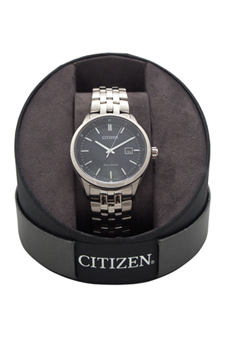 BM7251-53L Eco-Drive Stainless Steel Bracelet Watch by Citizen for Men - 1 Pc Watch
