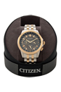 BU2026-57H Eco-Drive Calendrier Two-Tone Stainless Steel Bracelet Watch by Citizen for Men - 1 Pc Watch