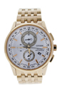 AT8113-55A Eco-Drive World Chronograph A-T Rose Gold-Tone Stainless Steel Watch by Citizen for Men - 1 Pc Watch