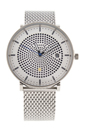 SKW6278 Solar Hald Stainless Steel Mesh Bracelet Watch by Skagen for Men - 1 Pc Watch