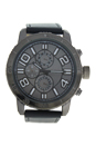 AG1905-01 Grey Leather Strap Watch by Antoneli for Men - 1 Pc Watch