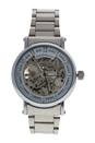 REDH1 Silver Stainless Steel Bracelet Watch by Jean Bellecour for Men - 1 Pc Watch