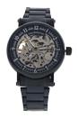 REDH3 Black Stainless Steel Bracelet Watch by Jean Bellecour for Men - 1 Pc Watch