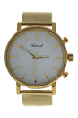 AG6182-07 Gold Stainless Steel Mesh Bracelet Watch by Antoneli for Unisex - 1 Pc Watch