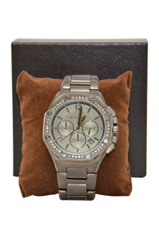 MK5506 - Gunmetal Knox Chronograph by Michael Kors for Women - 1 Pc Watch