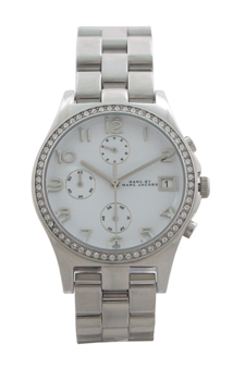 MBM3072 Chronograph Henry Stainless Steel Bracelet Watch by Marc Jacobs for Women - 1 Pc Watch