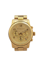 MK5055 Runway Gold-Tone Chronograph Watch by Michael Kors for Women - 1 Pc Watch