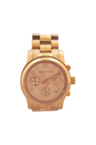 MK5128 Rose Gold-Tone Chronograph Runway Watch by Michael Kors for Women - 1 Pc Watch