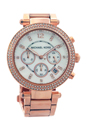 MK5491 Parker Rose Gold-Tone Watch by Michael Kors for Women - 1 Pc Watch