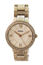 ES3282P Virginia Stainless Steel Watch by Fossil for Women - 1 Pc Watch