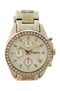 ES2681P Decker Chronograph Stainless Steel Watch by Fossil for Women - 1 Pc Watch