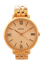 ES3435P Jacqueline Rose-Tone Stainless Steel Watch by Fossil for Women - 1 Pc Watch