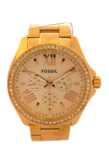AM4483P Cecile Multifunction Rose-Tone Stainless Steel Watch by Fossil for Women - 1 Pc Watch