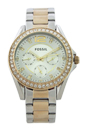 ES3204 Riley Multifunction Two-Tone Stainless Steel Watch by Fossil for Women - 1 Pc Watch