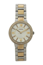 ES3503 Virginia Two-Tone Stainless Steel Watch by Fossil for Women - 1 Pc Watch