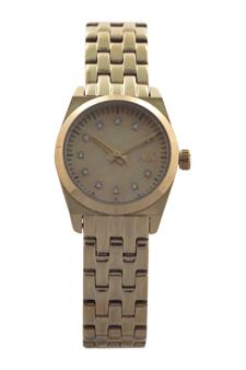 AX5331 Gold Rhinestone Digit Watch by Armani Exchange for Women - 1 Pc Watch