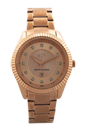 AX5432 Rose Gold-Tone Stainless Steel Bracelet Watch by Armani Exchange for Women - 1 Pc Watch