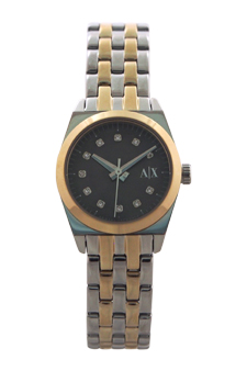 AX5333 Miss Jackson Two-Tone Gold-Silver Watch by Armani Exchange for Women - 1 Pc Watch